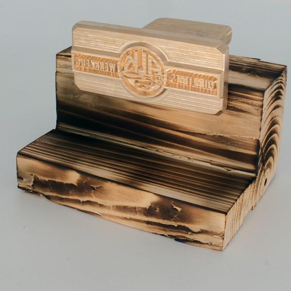 Brennplatte ALK6N 90mm x 40mm inkl. Gravur