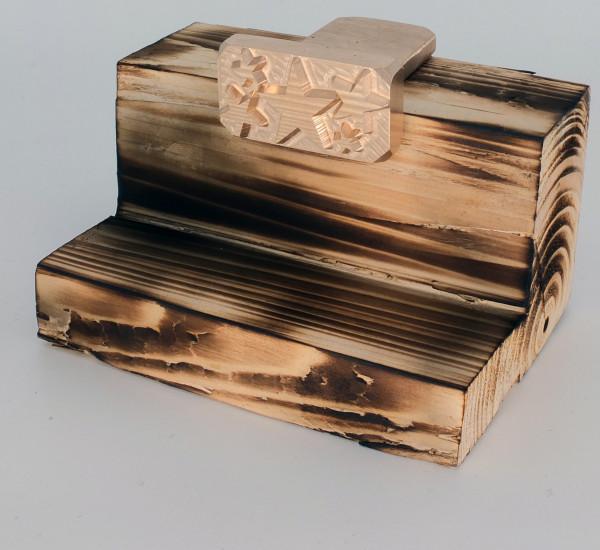 Brennplatte ALK2N 50mm x 25mm inkl. Gravur